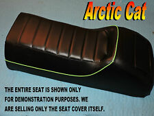 Arctic Cat WildCat New seat cover Green piping 1989-92 Wild Mountain Cat 858B