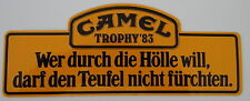 Aufkleber CAMEL TROPHY´83 1983 Zaire Land Rover 88 109 Defender Sticker