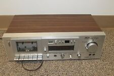 AKAI GX-M10 CASSETTE TAPE RECORDER DECK ~ IN GOOD WORKING CONDITION
