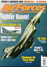 AIR FORCES MONTHLY 3/02 USAF KC-135 KC-10 ANG TANKER / ISRAELI F-16 / SINGAPORE