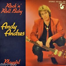"7"" Andy Andres EX VENTO/VOX & Vox Rock 'n' Roll Baby/PLAYGIRL Hansa NDW 1981"