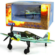 TB 1/100 Scale Diecast Airplanes Franklin Mint Aircraft Fw-190 Model Toys