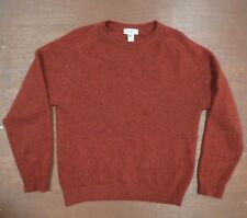 L.L.Bean Vintage Mens Wool made in Scotland sweater  M