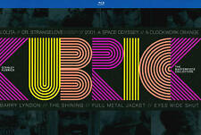 Stanley Kubrick: The Masterpiece Collection (Blu-ray Disc, 2014, 10-Disc Set)
