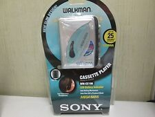 SONY WALKMAN WM-EX190 CASSETTE PLAYER with Headphones