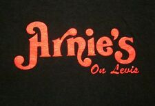 ARNIE'S logo Levis Commons tavern small T shirt Perrysburg tee OHIO defunct bar