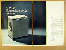 1972 The IBM Copier office copy machine photo vintage print Ad