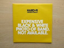 "HARD-FI Suburban Knights UK black vinyl 7"" in picture sleeve 2007 Unplayed"