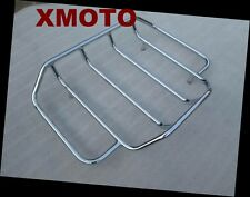 Luggage Rack Rail For Harley Touring Road King Street Glide Classic Special Chro