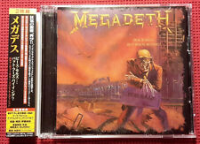 Peace Sells But Whos Buying [Bonus CD] by Megadeth (CD, Jul-2011, EMI Japan) OBI
