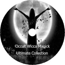 The Wicca Collection MAGICK OCCULT + more 348 ebooks on 1 DVD Witches spells