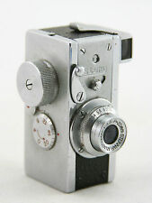 Steky model III, vintage spy camera, lens Stekinar Anastigmat 1:3.5 / 25mm