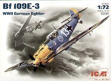 ICM 1/72 Messerschmitt Bf109E-3 # 72131