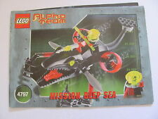 LEGO 4797 @@ NOTICE / INSTRUCTIONS BOOKLET / BAUANLEITUNG