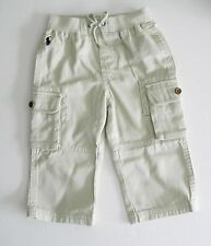 Polo Ralph Lauren Boys Chino Long Pants Basic Sand Sz 18M - NWT