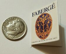 Miniature Dollhouse  Barbie 1/12 Scale Book Jewelry Cartier Faberge Eggs Big