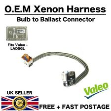 VALEO LAD5GL Cable Ballast Xenon Headlight Control Unit 4 PIN Velarc Harness