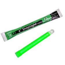 """New 2 Pack 6"""" Cyalume USA Lightstick Green 12 Hour Prepper Doomsday Survival EMP"""