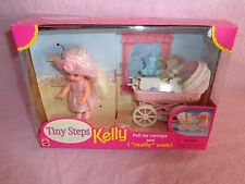 1998 Tiny Steps KELLY DOLL / Carriage Baby Toys * Blanket * SUPER CUTE! **SaLE**