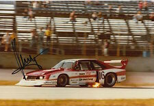 Klaus Ludwig Hand Signed 12x8 Photo Ford Racing 5.