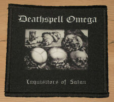 "DEATHSPELL OMEGA ""INQUISITORS OF SATAN"" silk screen PATCH"