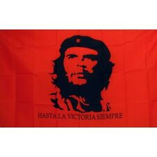 Che Guevara Red Flag Banner Sign 3' x 5' Foot Polyester Grommets