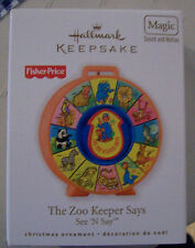 HALLMARK 2010 ORNAMENT FISHER PRICE THE ZOO KEEPER SAYS