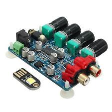 LM1036 + NE5532 Stereo Preamplifier Tone Control Amplifier Board DIY Module New