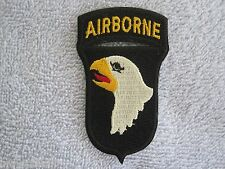"101st Airborne Division ""Screaming Eagles"" w/Airborne Tab Vietnam Style Airborne"