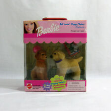 New 1999 vintage barbie ✧ afghan chiots ✧ mattel animal lovin chiot jumeaux DGSIM