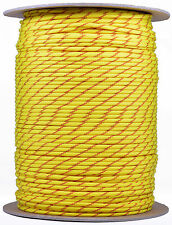 Fast Pitch - 550 Paracord Rope 7 strand Parachute Cord - 1000 Foot Spool