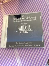 "DISNEY FANTASIA 2000"" DELUXE READ-ALONG CD -- 2 CLASSIC STORIES FROM FILM"