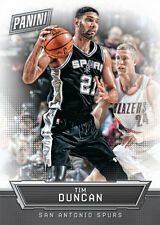 TIM DUNCAN #15 SPURS LEGEND Panini 2016 National Convention (Silver packs card)