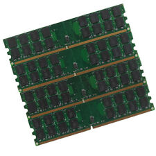 Micron chips 16GO 4X4GO DDR2 PC2-6400 800MHz Desktop Memory RAM only For AMD CPU