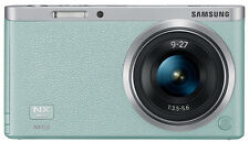 Samsung NX Mini Smart Camera with 9-27mm Lens (Mint Green) + SD Card -Fedex USA