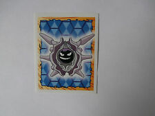 Autocollant Stickers POKEMON Collection MERLIN N°91 CRUSTABRI !!!