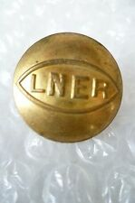 LNER Buttons/ London & North Eastern Railway Winking Eye Button (BRASS, 22mm)