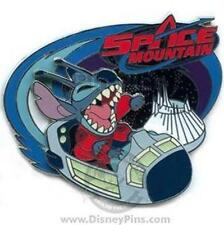 2008 STITCH SLIDER SPACE MOUNTAIN MICKEYS ODYSSEY DISNEY PIN 61850