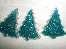 Bling CHRISTMAS TREE Novelty Theme Buttons - Dress It Up - All Crafts
