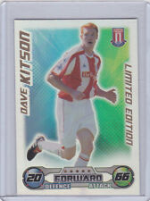 match attax 08/09 DAVE KITSON LIMITED EDITION STOKE CITY 2008 2009 MINT
