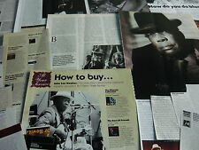 JOHN LEE HOOKER - CUTTINGS COLLECTION (REF X17)