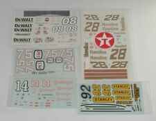Lot of 5 Unused Nascar Model Car Kit DECALS  R8132
