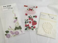 . Flower and pearl stickers