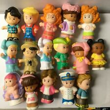 Random 10pcs Fisher Price Little People Figure Xmas Baby Kid Boy Girl Toys Dolls