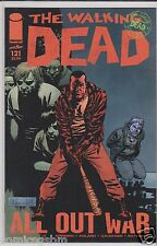 Image comics The WALKING DEAD #121 to #126 ALL OUT WAR ! The CAPTURE of NEGAN !