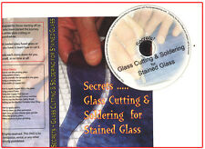 SECRETS - GLASS CUTTING AND SOLDERING FOR STAINED GLASS -  DVD