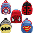 Kids Xmas Gift Superman Batman Spiderman Captain America Schoolbag Backpack Bag