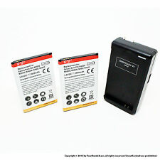 2x 3800mAh battery for Samsung Galaxy Note 3 III; N9000 + Dock Charger