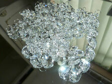200  Chandelier Crystal Droplets Chain Glass Beads For  Weddings/Chandelier 13mm