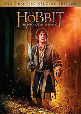 The Hobbit: The Desolation of Smaug DVD, 2014, 2-Disc Set, Includes Digital...